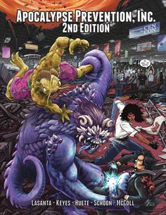 Third Eye Games Rolls Out 'Apocalypse Prevention, Inc. 2nd Edition' on Kickstarter   The Gaming Gang