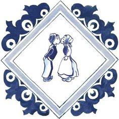 Daelmans Dutch Delfts Blue Icon