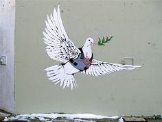 bansky dove
