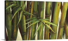 Bamboo on Beige II