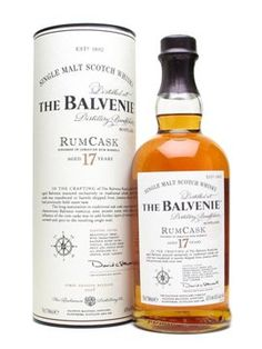 The Balvenie 17y Rum cask