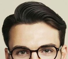 Mens Hairstyles Side Part, Men's Hairstyles, Glasses, Hair Styles, Fashion, Men Hair Cuts, Male Hairstyles, La Mode, Hairstyles