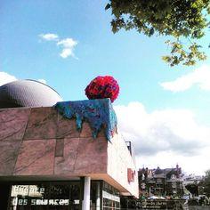 Regram from @moise72  #rennes #leschampslibres #boule #couleur