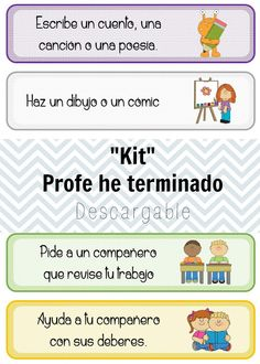 Profe he terminado, ¿ahora que hago? / Ideas e imprimibles / EARLY FINSHERS Classroom Jobs, Classroom Organization, Classroom Management, Classroom Decor, Spanish Lessons, Learning Spanish, Spanish Class, Fast Finishers, Elementary Spanish