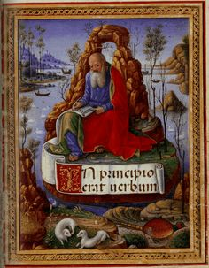 The Sforza Hours: St. John