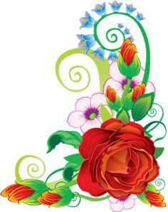 ♡ Point das Fofurices ♡: Rosas e Flores no tom Vermelho