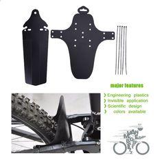 Road Bike Fender Mudguard Seat Parts Removable Accessories Rear Fender BIN