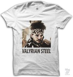 Valyrian Steel Shirt, game of thrones, blue steel, humor