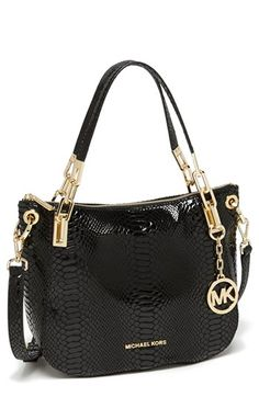 MICHAEL Michael Kors 'Brooke - Medium' Leather Shoulder Bag available at #Nordstrom