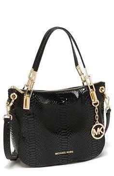 MICHAEL Michael Kors 'Brooke - Medium' Leather Shoulder Bag | Nordstrom