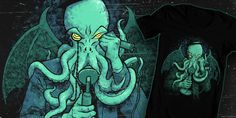 """Call of Cthulhu"" t-shirt design by JordyTheGnome"
