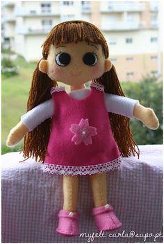 My Felt: boneca de feltro