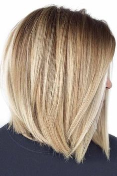 You may find here more obsessing shades of blonde balayage hair colors for best ever hair looks right now. Here we have collected amazing trends of balayage highlights. No matter which hair length you have, it is one of the most suitable hair colors. Medium Hair Styles, Short Hair Styles, Balayage Hair Blonde, Balayage Highlights, Long Bob Balayage, Blonde Balayage Bob, Color Highlights, Blonde Bobs, Short Bob Hairstyles