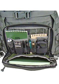 """Kifaru Organizer Pocket. $55-$75 9"""" x 7.5"""" x 1.5""""; 9.5 oz 1000d / 500d Cordura"""