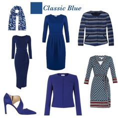 Sprint trend colour Classic Blue = perfect for cool colouring, mix with a bright contrast