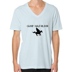 Camp Half-Blood V-Neck (on man) Shirt