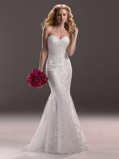 Lucy Wedding Dress by Maggie Sottero   alt 1