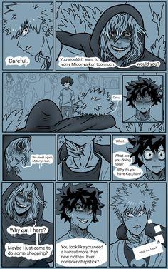 Chapter 103 part 2 Boku No Academia, My Hero Academia Shouto, Hero Academia Characters, Villain Deku, Boku No Hero Academy, Nerdy, Fangirl, Funny Memes, Ships