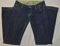 MISS ME Women's Jeans Size 27 Geneva JP4480X 30 x 33 Low Rise Flare Stretch #MissMe #Flare