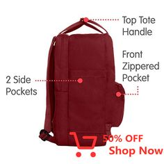 The classic Kanken becomes your computer bag. The padded pocket protects the computer from jostling. Zipper opens the entire main compartment. Padded shoulder straps and a carrying handle on top. Making Ideas, Cool Stuff, Stuff To Buy, Projects To Try, Cronut, Abs, Boards, Arbour, Baby Shower