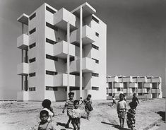SIDI OTHMAN APARTMENT BUILDINGS, CASABLANCA, MOROCCO (1954) BY ANDRÉ M. STUDER