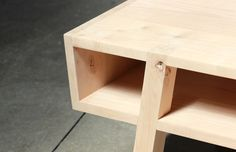 COFFEE TABLE by Ian Hughes, via Behance