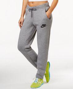 1dad6821d1bf88 Nike Sportswear Fleece Rally Pants & Reviews - Pants & Capris - Women -  Macy's
