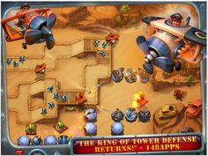 The biggest sequel in tower defense history is now on iPad: Fieldrunners 2 HD has arrived! From Subatomic Studios, creators of the award winning classic strategy game, comes an all new adventure that was years in the making. Build epic mazes out of powerful weapons to defend the world from the invading fieldrunners!