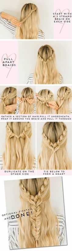 When it comes to styling hair, you simply cannot go wrong with braids. Whether your hair is long and thick or medium length and thin, whether it's summer or winter, braids are perfect for any time and situation. Need something fancy? Adorn your braid with pretty ribbons or hair bands. Looking for a casual yet feminine and elegant look for work? Just a simple braid will do. Truly, braids are incredibly versatile, practical and a little boring. There are just so many tim