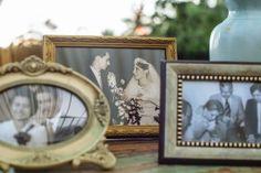 Objetos vintage: porta-retratos antigos - Foto Claudia Ruiz