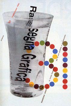 Rassegna Grafica cover, 1955 Cover for the Italian magazine Rassegna Grafica by Franco Grignani. Issue May-June Design Graphique, Art Graphique, Box Design, Design Art, Magazine Cover Design, Magazine Covers, Graphic Prints, Poster Prints, International Typographic Style