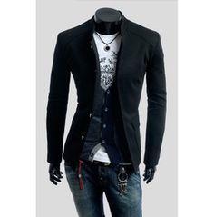 780ec94e428 Black Beige Red Blue Colors Mens Pure Slim Collar Small Suit Jackets Suit