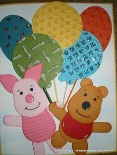 Sharyn's Stamp Biz: punch art----------like the design on the balloons