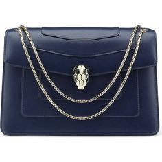 BVLGARI Serpenti Forever calf-leather shoulder bag (117,010 DOP) ❤ liked on  Polyvore 527e6dd4b1