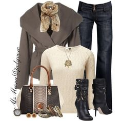 """Liza"" by msmeena on Polyvore  #jeans #boots #guess"