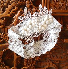 Christening vintage white or cream lace by TutusChicBoutique, $12.50