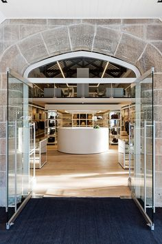 Luxury Australian multi brand boutique Parlour X has relocated to the historic St Johns Church Paddington, which has been transformed into a distinguished retail destination. St John's Church, Boutique Interior, Parlour, Retail Design, Repurposed, Sydney, Mansions, Luxury, House Styles
