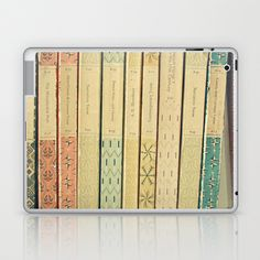 Old Books Laptop & iPad Skin by Cassia Beck - $25.00