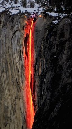 See Yosemite. The Top Yosemite Things To Do. If you go to Yosemite things to do are in abundance. California National Parks, Yosemite National Park, California Usa, Beautiful Pools, Beautiful Places, Horsetail Falls, Into The Fire, Natural Phenomena, Wild Life
