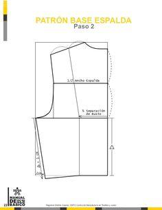 Manual de patronaje CMT - SENA Pattern Drafting, Jacket Pattern, Sewing Techniques, Pattern Making, Manual, Sewing Patterns, Charts, How To Make, Textiles