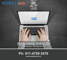 Are you looking Best Bulk Email Marketing Delhi or Bulk Email Service Provider Delhi NCR? Kenble Mail - A Right solution and Best Email Marketing Company in Delhi, is right solution for you for Email Marketing Services.
