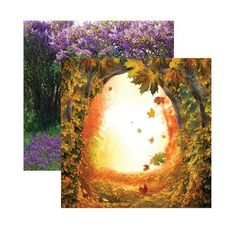Reminisce+-+Fairy+Forest+Collection+-+12+x+12+Double+Sided+Paper+-+Into+the+Hollows+at+Scrapbook.com