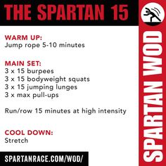 THE SPARTAN 15