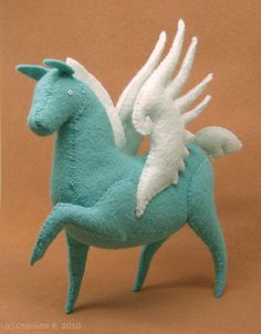 Made to Order: Tamoshanter Pegasus. $60.00, via Etsy.