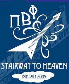 Pi Phi stairway to heaven #piphi #pibetaphi