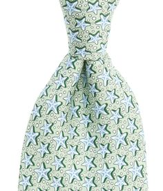 fe5ab6d6ab Shop Vineyard Vines for a large selection of printed Men's silk ties. Our  Starfish silk necktie comes in a variety of colors.