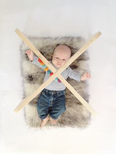 Wooden Baby Gym by NinAndJune on Etsy