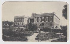 Cartão-postal do Instituto Benjamin Constant, que, em 1884, recebeu a denominação de Asilo Orfanológico Elisa Souto. Acervo: Museu da Imagem e do Som (MISAM).
