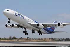 LAN Airlines CC-CQG Airbus A340-313X aircraft picture