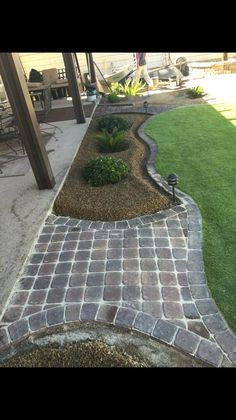 A wonderful read on more concerning Front Home Landscaping Backyard Walkway, Backyard Patio Designs, Garden Yard Ideas, Lawn And Garden, Desert Backyard, Patio Ideas, Backyard Ideas, Outdoor Landscaping, Front Yard Landscaping